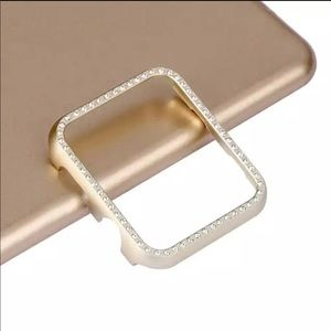 New 42mm Gold Bling Apple Watch Protector
